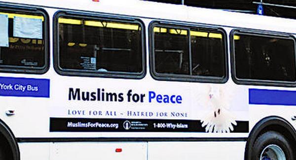 """""""Muszlimok a békéért"""" a Times Square-en"""