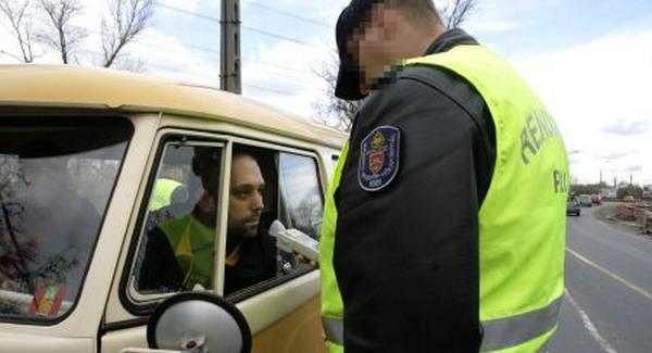 A rendőrség fokozottan ellenőriz