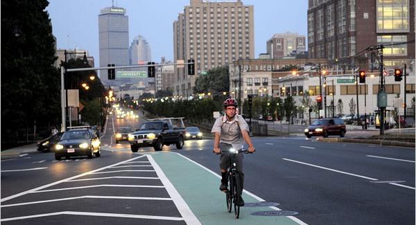 New York hozzászokik a biciklisávokhoz