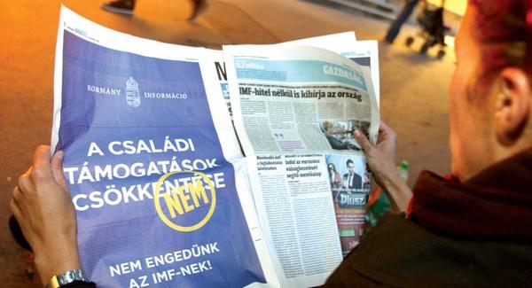 Begurult Budapestre az IMF