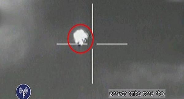 Drónt lőtt le az izraeli légierő