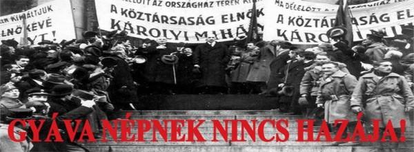 Tüntetés az orbáni zsarnokság ellen