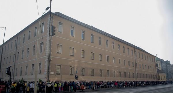 Blaha Lujza tér, 2013. december 24.