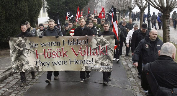 Megint vonulhattak a nácik Budapesten