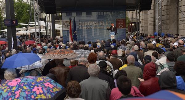 Gyurcsány és az Európai Egyesült Álmok