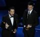 Trent Reznor és Atticus Ross, a Közösségi háló zeneszerzői