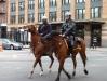 Lovasrendőrök, Manhattan.