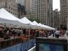 Piac a Rockefeller Plazan