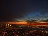 Tegnapi naplemente az Empire State Building kilátójárol