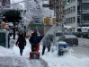 Újabb hóvihar, NYC